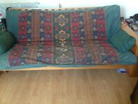 Large 3seater sofa bed
