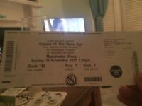 X2 Queens of the Stone Age tickets Sunday November 19th MEN arena