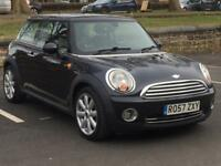 MINI COOPER 2007 (07 REG)*£2999*LOW MILES*LONG MOT*BLACK*MANUAL*PX WELCOME*DELIVERY NATIONWIDE