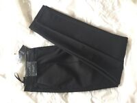 Ladies Next cigarette trousers in black - size 10r