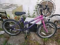 Girls Bike BMX style