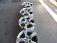 MAZDA RX8 ALLOYS 18INCH GOOD CONDITION BARGAIN ONLY £190 THE SET OR £50 EACH *LOOK*