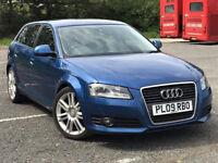 2009 Audi A3 -- 1.4 TFSi SE SportBack 5 Door --- Manual --- Part Exchange OK --- Drives Good