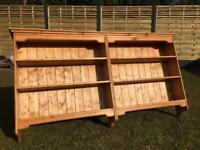 Large Solid Pine Wall Shelves Rack shelving 3 Tier