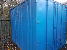 10ft x 8ft Steel Shipping Container/Office Unit