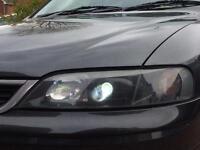 Vectra b xenon lights