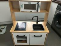 Child's IKEA wooden kitchen