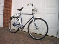 Gents old fashioned bicycle – fully functioning