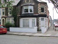 1 Bedroom Ground floor flat Grangetown, Pets allowed, own front door, recently refurbished