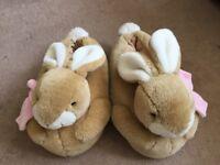 Moving sale: Lovely rabbit slippers