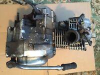 Yamaha YBR 125 Engine 08 Fuel Injection Model Engine