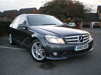 * 2010 MERCEDES C-CLASS C200 CDI BLUEEFFICIENCY SPORT AMG DIESEL* FULL SERVICE HISTORY *