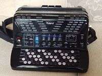 Roland FR-1XB Chromatic Button Accordion
