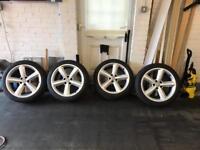 Audi Sline Alloys With Tyres
