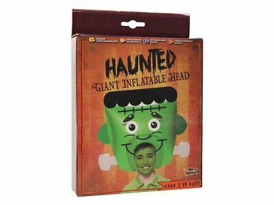 Riesig Aufblasbar Aufblasen Frankenstein Monster Kopf 2ft Halloween - Riesige Monster Kostüm