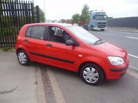 Hyundai GETZ GSI,5 door hatchback,rare auto,nice clean tidy car,runs and drives well,low mileage 49k