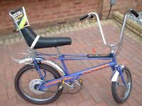 Wanted vintage 1970's Raleigh chopper bike mark 1 or 2