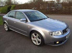 AUDI A4 S LINE 1.8 PETROL WITH FULL SERVICE HISTORY