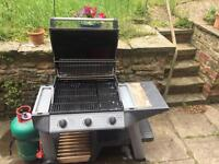 Outback 3 burner gas BBQ
