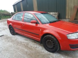 Skoda superb parts vw passat