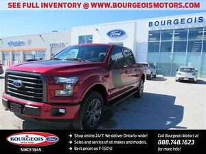 2016 Ford F-150 XLT 4X4 CREW REMOTE START SYSTEM DEMO 302A