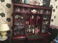 Display & Drinks Cabinet, also nest of coffee tables and side table with drawers