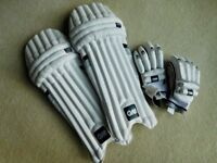 Cricket Pads & Gloves - GM303 (Youths)