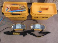 Fluke 1651 electrical tester to measure voltage, frequency, insulation & continuity, 2 available.