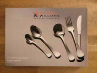 Maxwell Wiiliams Cosmopolitan 40 piece cutlery set