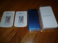 iPod 6th Generation 16GB Metallic Blue REDUCED! !!