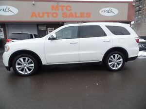 2011 Dodge Durango Crew Plus, LEATHER, 7 PASSENGER, DVD, BACKUP