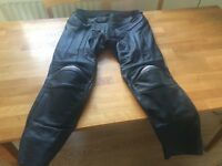 RST R-14 Leather Motorcycle Trousers size 38 BRAND NEW UNWORN