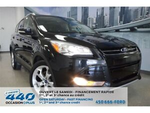 2013 Ford Escape Titanium | 2.0L, CUIR, TOIT PANO, NAVIGATION
