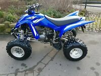 Yamaha yfm raptor 350cc road legal mint condition (1 OWNER)