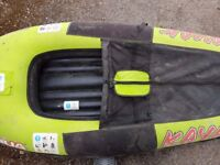 Inflatable Kayak with Oar and Pump