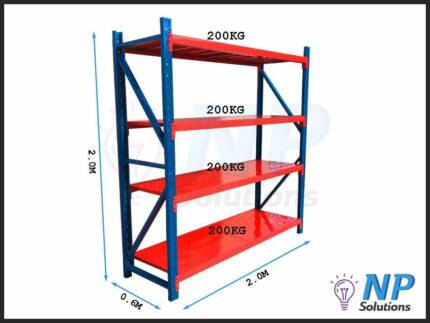 Shelving Shelves Racking Garage Shed Storage Warehouse  800kg