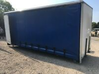 TRUCK BODYS CURTAIN SIDE BODYS OFF 7.5 TON TRUCKS FOR STORAGE OR RE FIT 4 IN STOCK + OTHERS