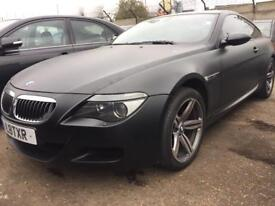 BMW m6 breaking whole car export