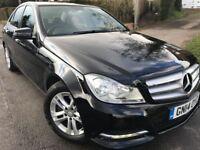 2014 Mercedes-Benz C Class C220 CDI SE(Executive)7G-Tronic Plus 4dr Auto 1 OWNER SATNAV FULL LEATHER
