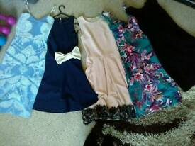 Collection of womens dresses size 8