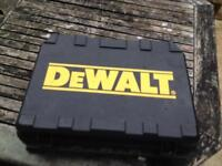 DeWALT CORDLESS DRILL & BATTERY IN CASE