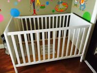 Two ikea cribs excellent condition