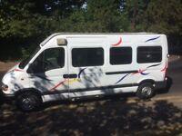 Renault Master LWB Hi Top Motorhome Camper 86k miles long MOT