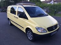 2004 Mercedes Vito 109 Cdi 2.2 Diesel,Dualiner CREW CAB 6 Seater,kombi,Compact TAX and MOT Transit