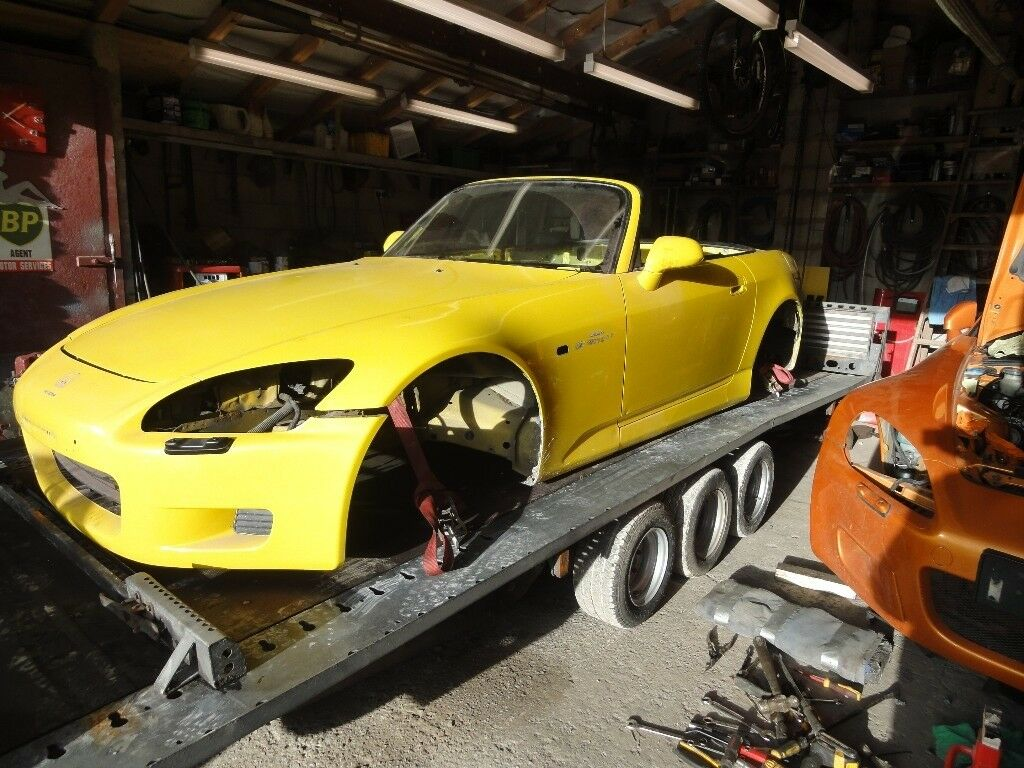 2003 honda s2000 complete body shell with v5