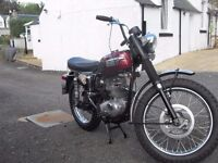 WANTED VINTAGE/CLASSIC MOTORBIKES