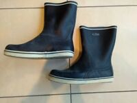 Gill yachting wellies, size 10, £10