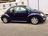 Volkswagen Beetle 2002 Automatic 12 Months Mot Full leather seat
