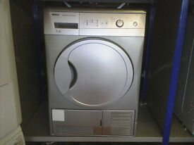 BEKO CONDENSER TUMBLE DRYER IN SILVER 7KG fully reconditioned , can deliver locally