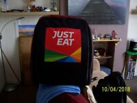 Hot food delivery backpack